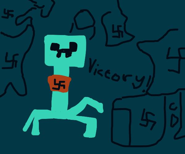 Alternate WW2 timeline but in Minecraft