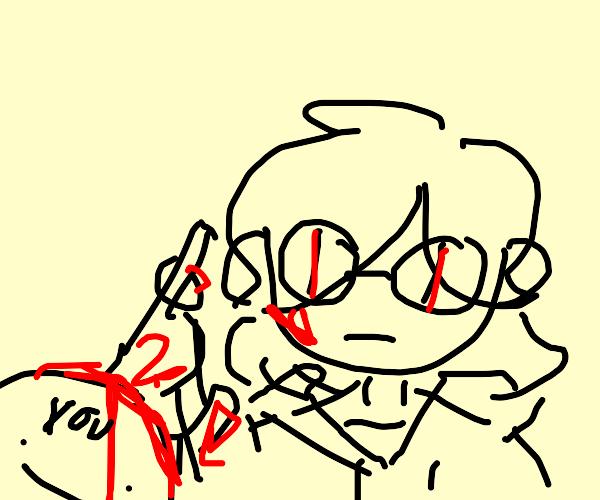 Karina from Drawfee stabbing you