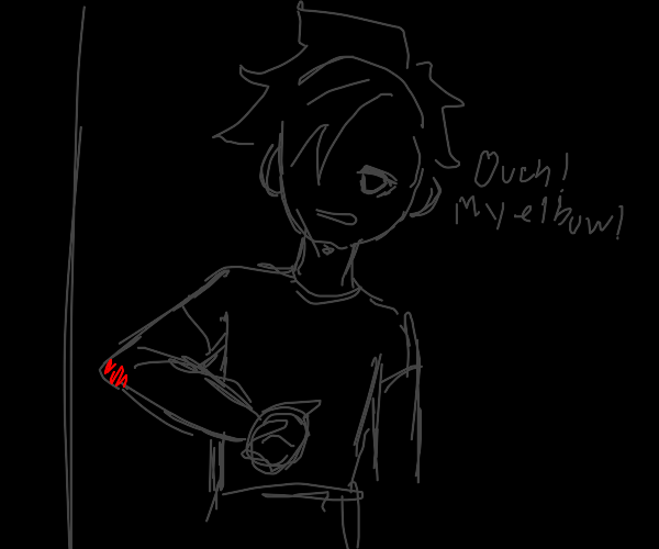 Shadow child hurt themselves