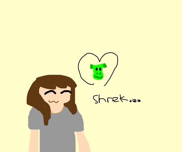 in love with shrek the singer
