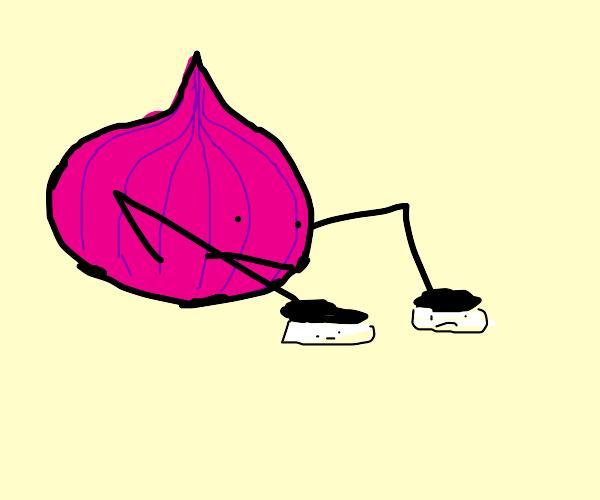 Sentient Onion flattening sentienmarshmallows