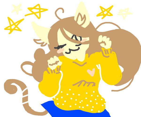 Nya! Cat girl