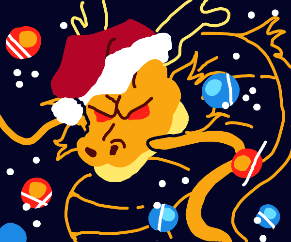 Christmas Dragon