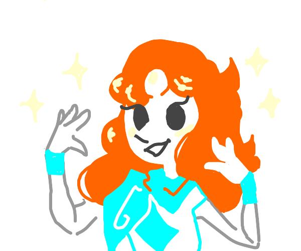 Daphne (scoobydoo) + Pearl (Steven universe)