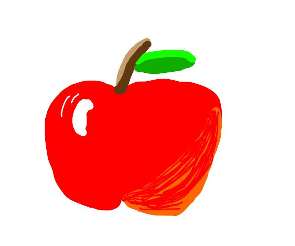 Worlds greatest apple