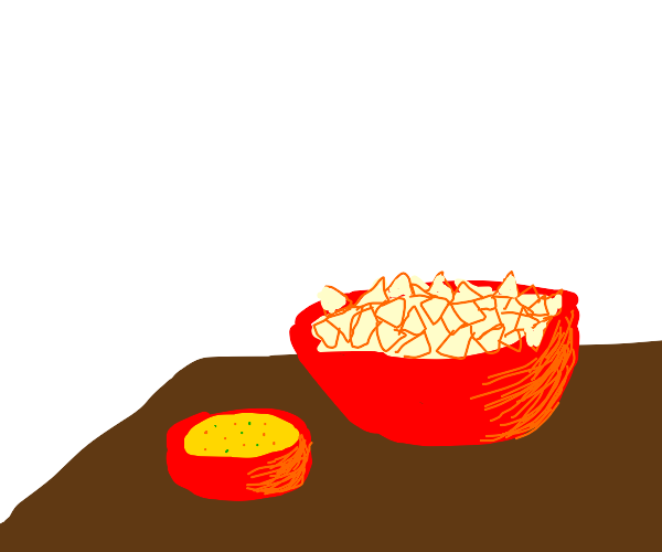 bowl of queso