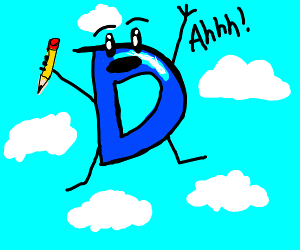 drawception logo falling