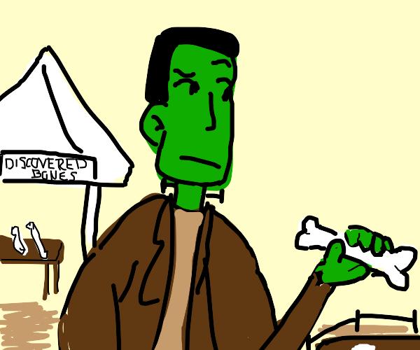 Frankenstein Paleontologist