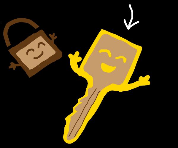 happy key