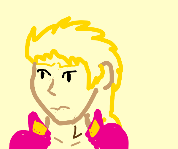 Giorno without donut hair