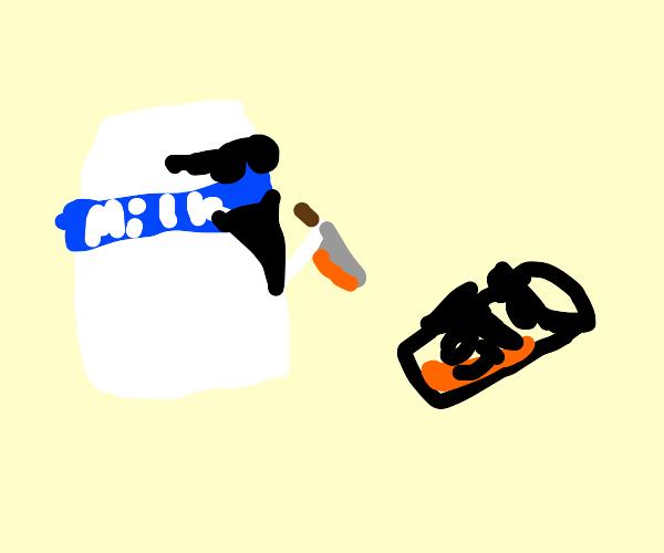 Milk Gang kills Orange Juice Gang