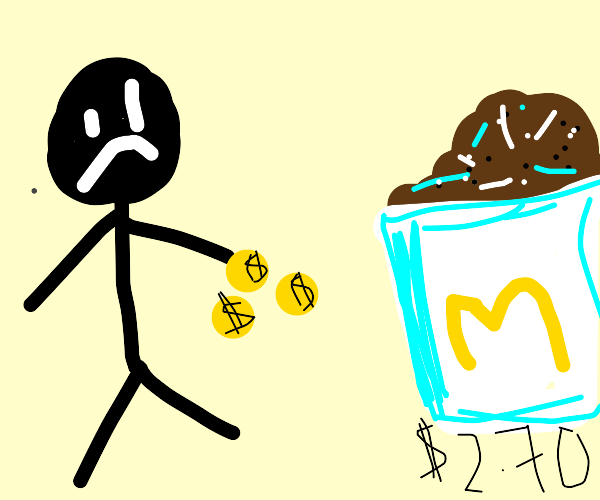 Guy doesn't have enough money 4 a McFlurry