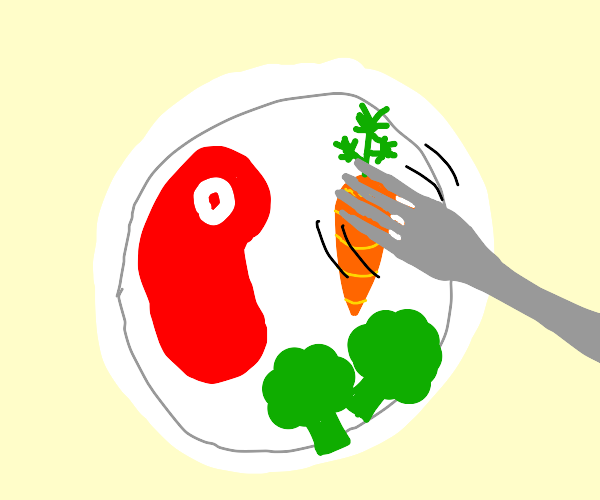 Playing with a Vegetable