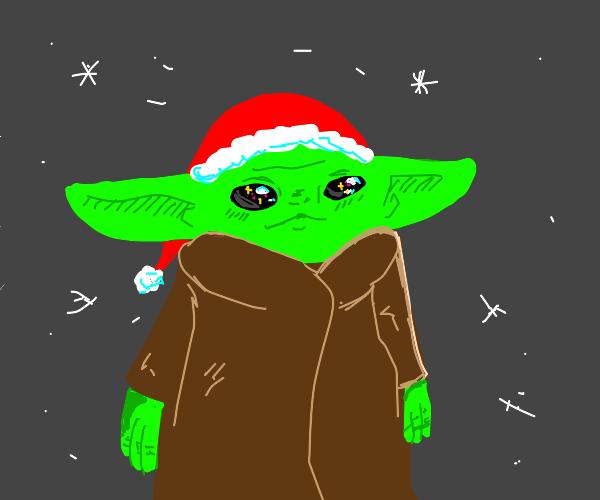 baby Yoda for Christmas