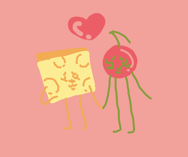 Cheese and cherry in love