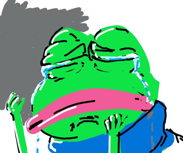 Crying Pepe