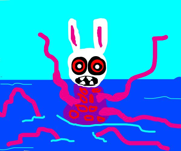 Bunny sea monster