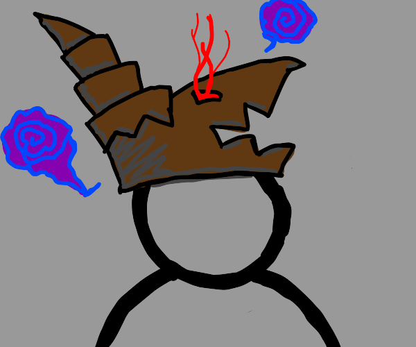 demonic hat