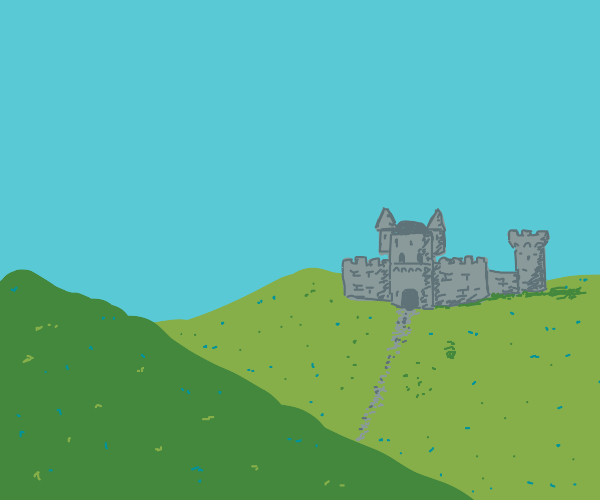 Castle in the hills