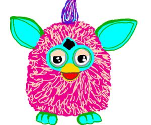 A cute Furby