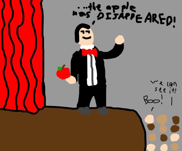 Bad magician