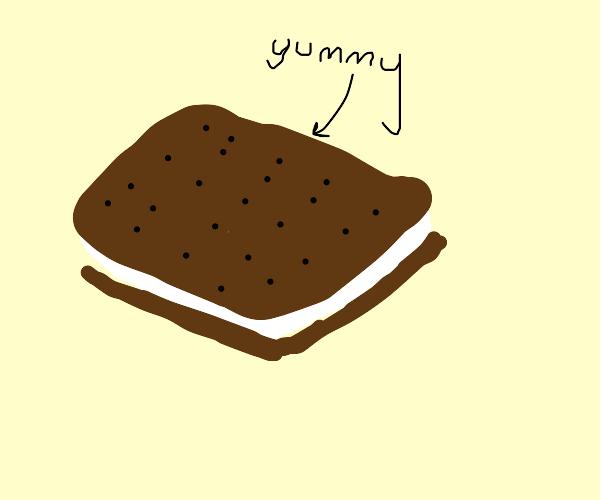 yummy ice cream sandwich