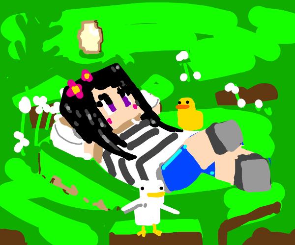 Minecraft Chick