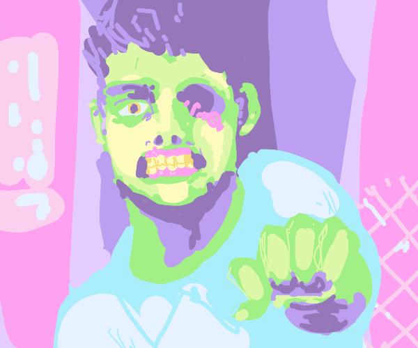 zombie with one eye