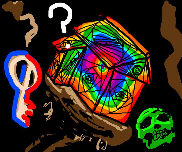 Rainbow house mystery