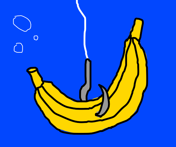 fishing for bananas