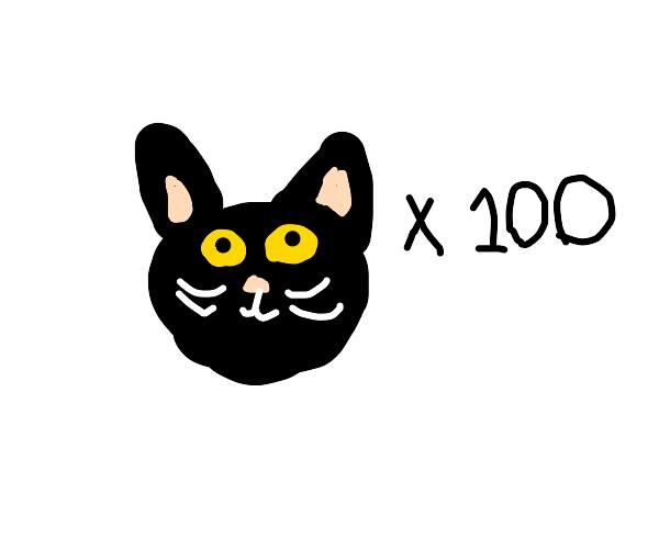 100 C A T S
