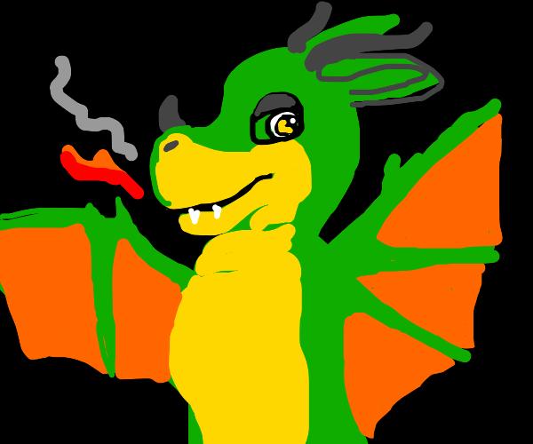 Sparky dragon