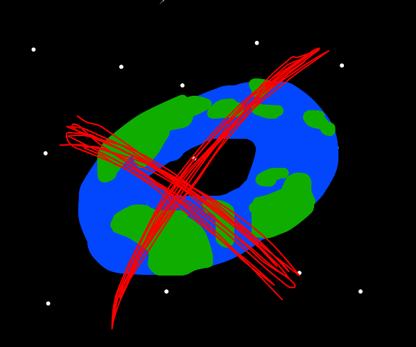 the earth is not a donut