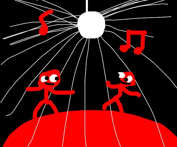 Disco Party on Mars
