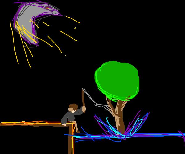 Reeling in a Tree