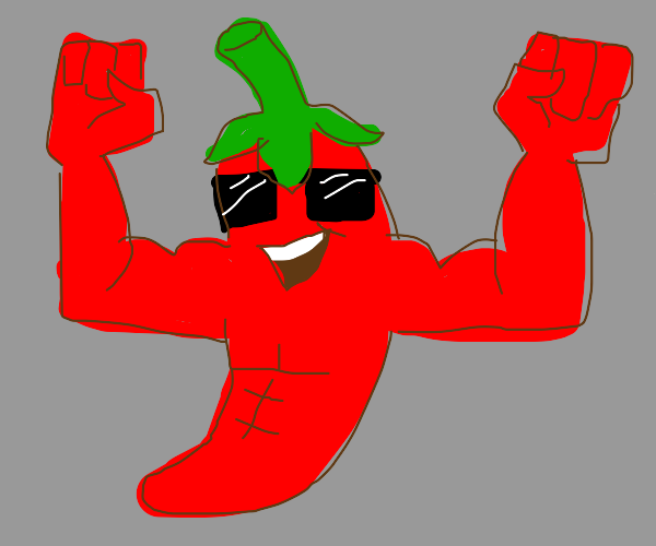 Buff chilli pepper