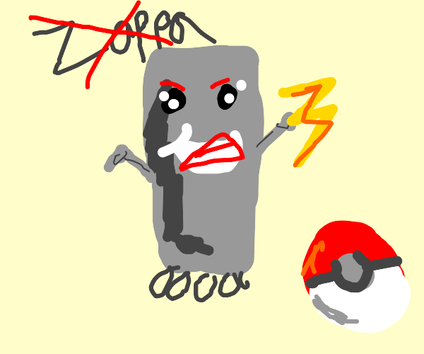 Rejected Steel Electric Pokemon Design