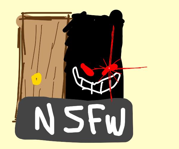 Open door? CENSORED