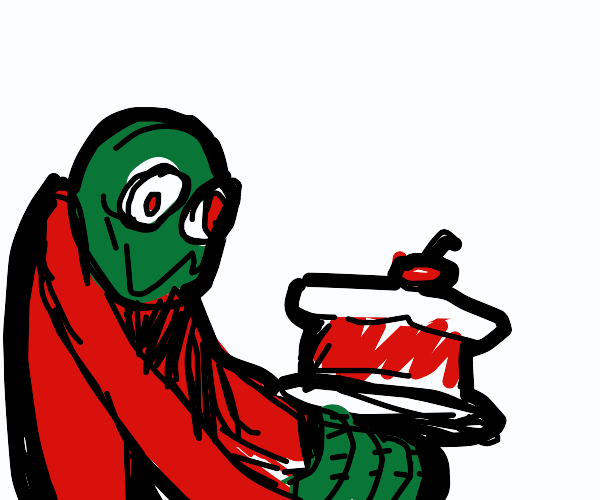 Here, have some cake