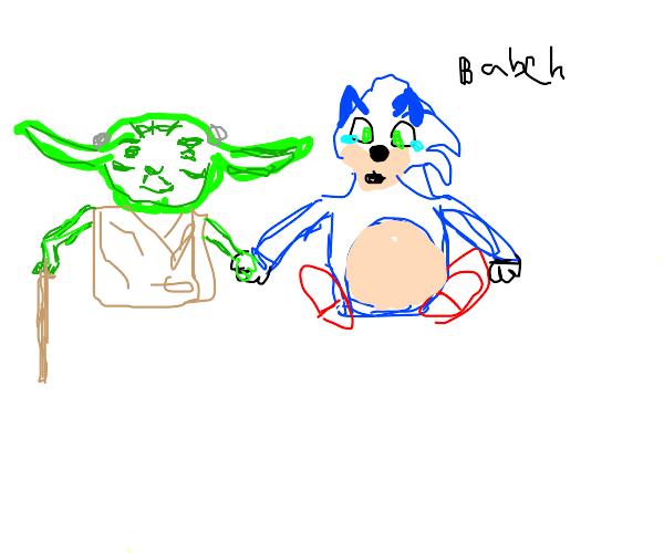 Yoda got Sonic pregnant