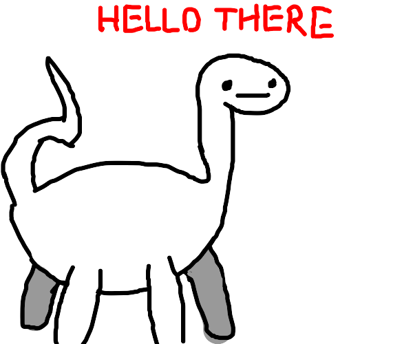 Dinosaurs exist again