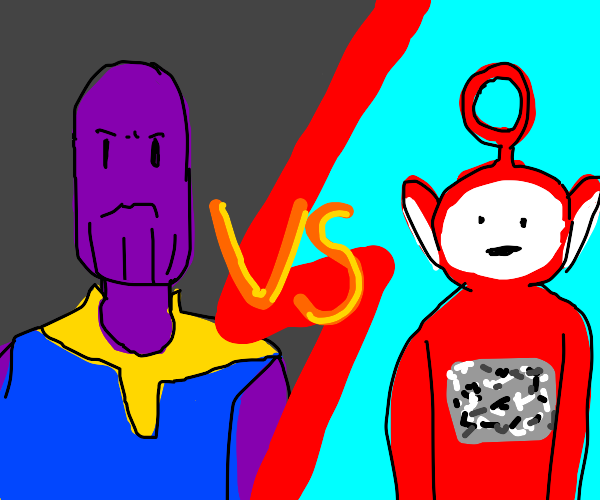 thanos VS teletubbies