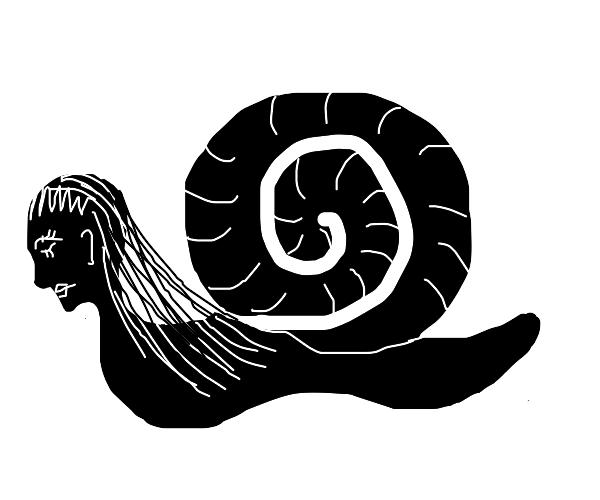 snail woman fusion