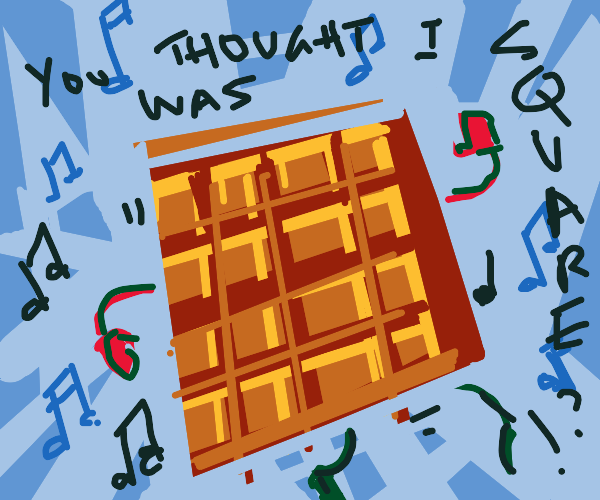 Dancing Waffle