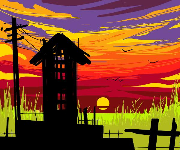 1970s Sunset