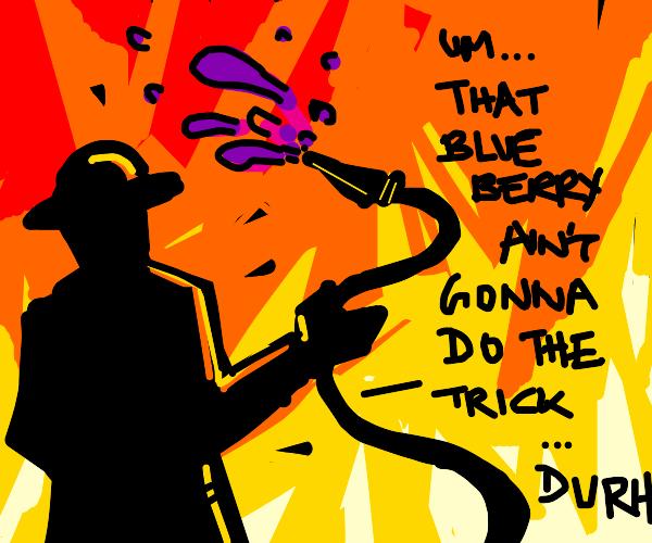 Fire-man pumps up the jam