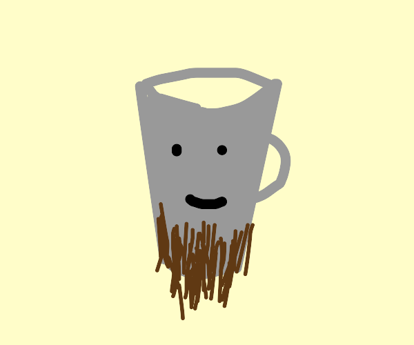 Bearded cup