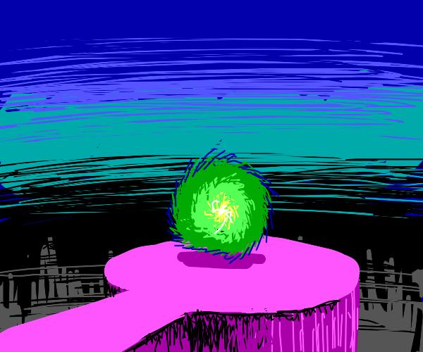 otherworldly portal