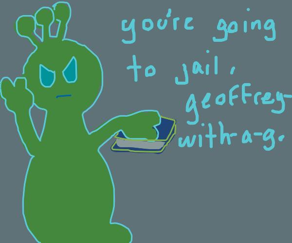 Alien swearing