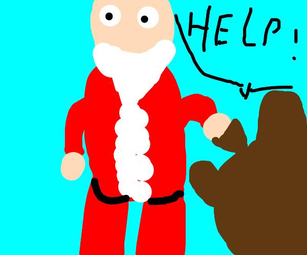 santa kidnaps a child